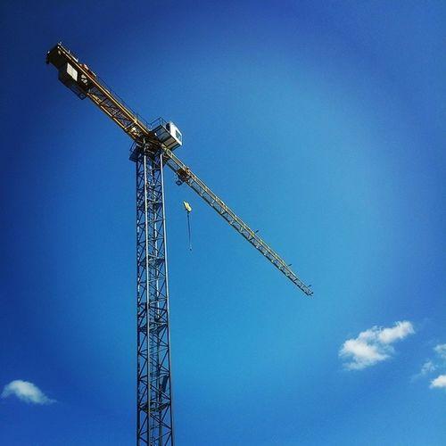 Callipers Vilnius Lithuania Construction Site Building Crane