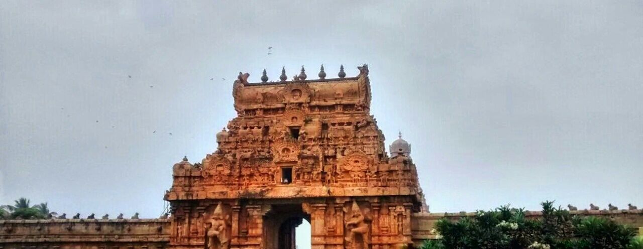 Temple Hinduism Tamilnadu Ancient Architecture India