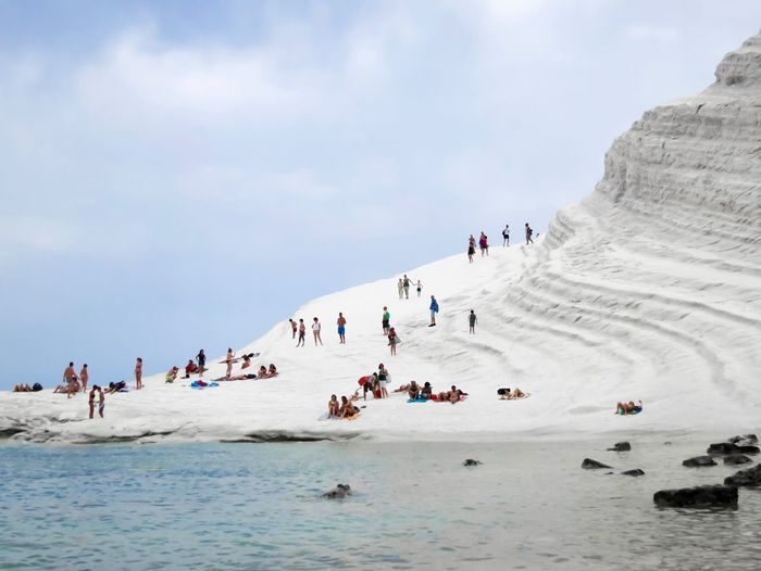 Your Ticket To Europe Scala Dei Turchi Sicily Italy Lost In The Landscape Fresh On Market 2017