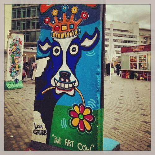 Berlin wall...was