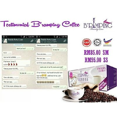 BE RAMPING COFFEE RM85 INCLUDE POSTAGE SEMENANJUNG RM95 EXCLUDE POSTAGE WASAP 0137471749 Sayajual Sale Visitmyig Bazarpaknil berampingcoffee