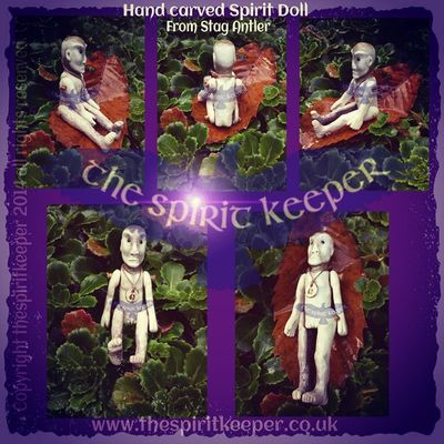 Spiritual Shamanic Stag Thespiritkeeper samansoul stag antler human bone unique