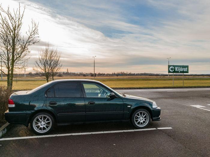 Car February Morning Green Honda Civic I Love My Honda Fanatics HuaweiP9 Huawei