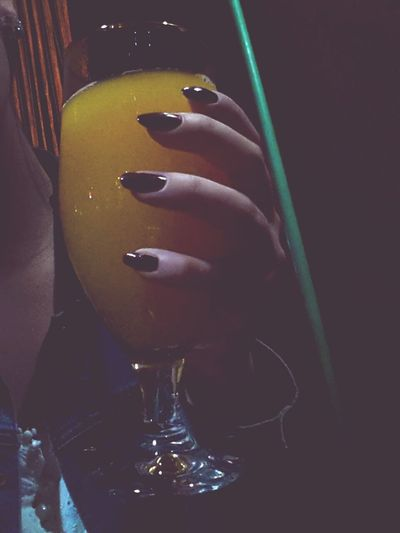 Drinking Juice Family Party My Nails  Nail Art