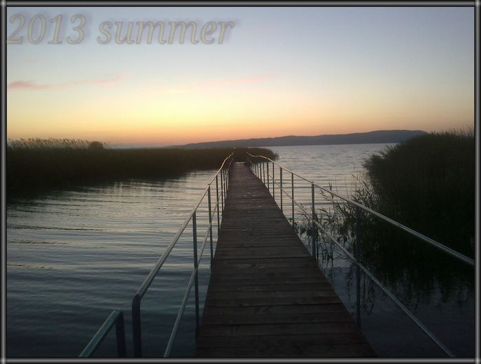 Balaton Landscape Sunset