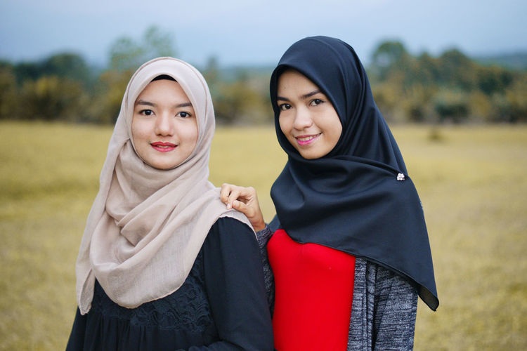 two Malay girls