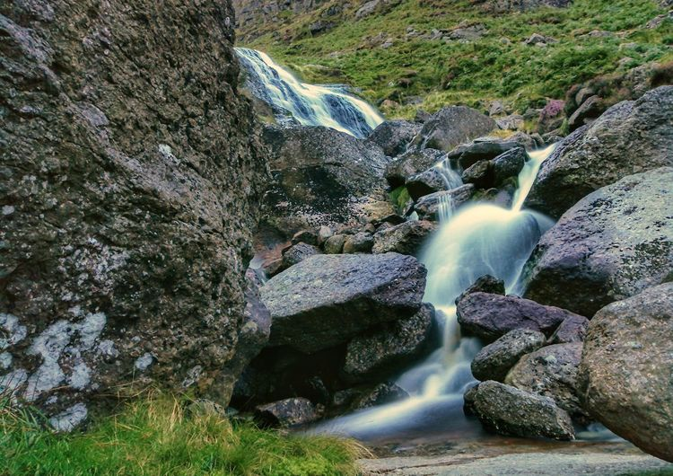 Drowning out the din. Mahon Falls Comeragh Mountains Waterford Ireland🍀 Motion Water Waterfall Outdoors Nature No People Night Shot Huawei P10 Plus EyeEmNewHere Waterfalls💦 Rock Formation Heather Mountains Hikingadventures Beauty In Nature EyeEm Nature Lover Flowing Water Through Mountains 60 Seconds Scenics Tranquility Tranquil Scene The Week On EyeEm