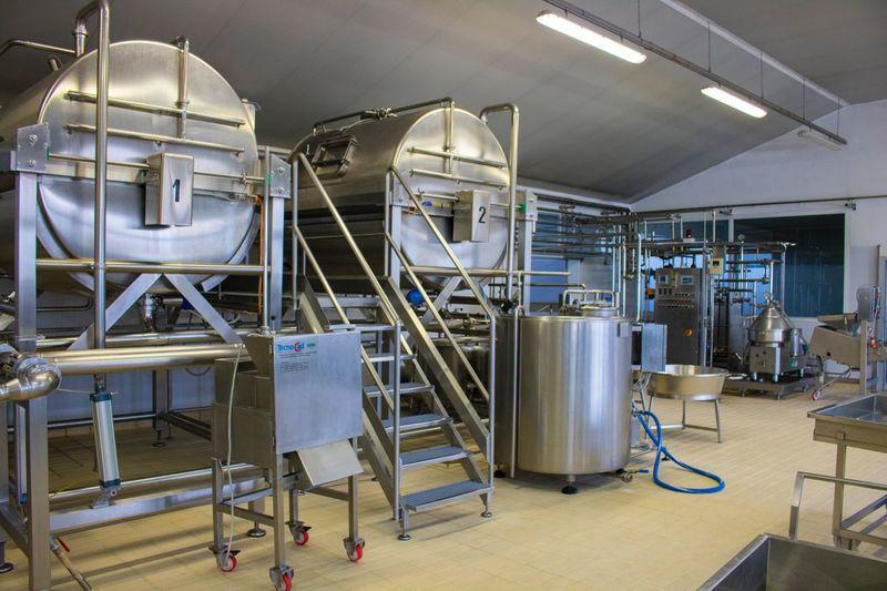 No People Indoors  Factory Industry Metal Industry Day Cheesefactory Manufacturing Equipment Manufacture Manufacturing Mozzarella Cheese Technology Indoors