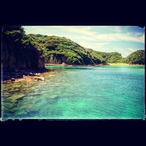 身も心も癒される場所。オアシス。 長崎県 壱岐 辰の島 オアシス 海 癒し 透明 島 oasis sea island clear