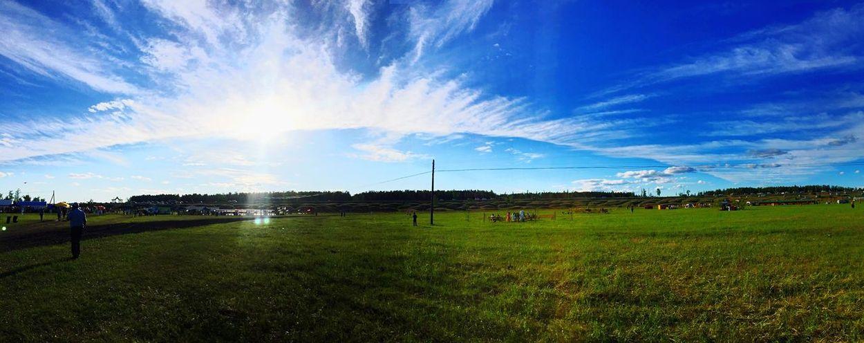Ykt Yakutsk ысыах ысыахолонхо Nature Sky Panorama
