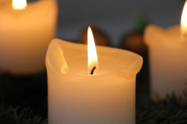Burning Candle Christmas Flame Flame Illuminated Indoors  Kerze Tannen Tea Light Wachs Wax Weihnachten