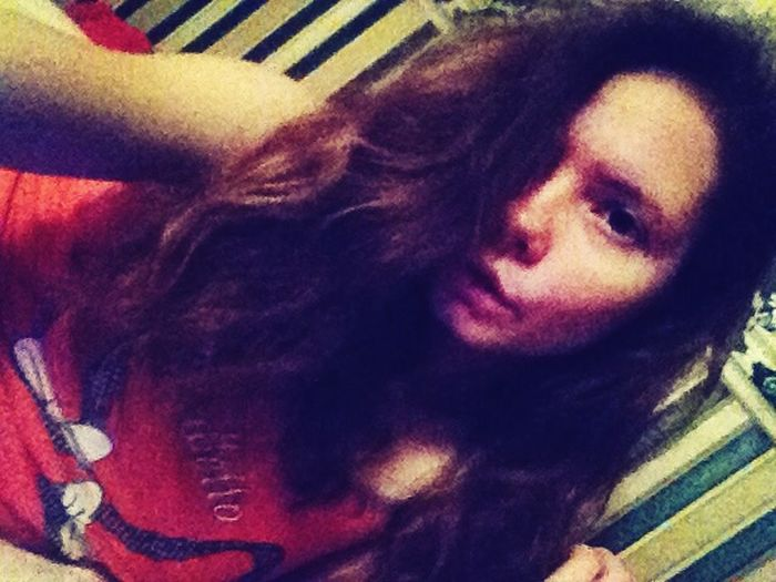 only sometimes i like my curly hair ^^