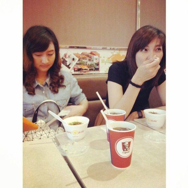 Breakfast at KFC @mai1908 @octoiijane