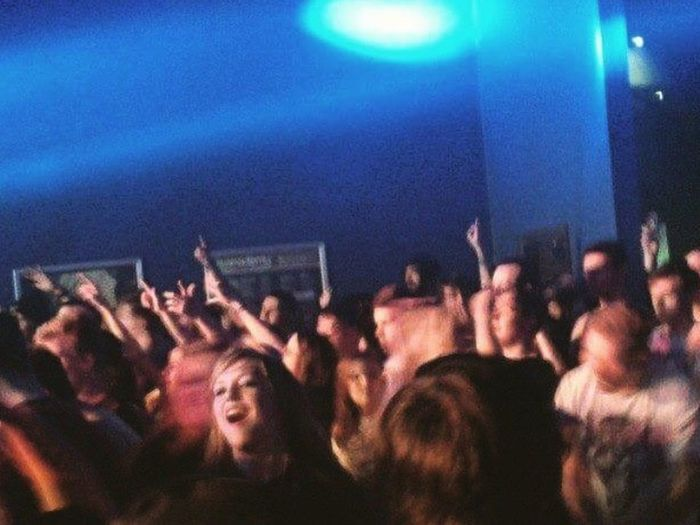 Awful pic from my awful phone that I took at a concert roughly 3 years ago. Large Group Of People Arts Culture And Entertainment Music Nightlife Crowd Enjoyment Night Audience Performance Youth Culture Event Popular Music Concert People Indoors  Real People Moshpit Rock Music Concert O2 Academy  Memphis May Fire