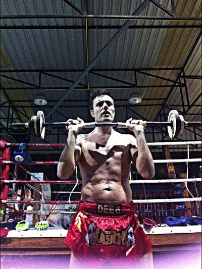 Training Gym Boxer Body