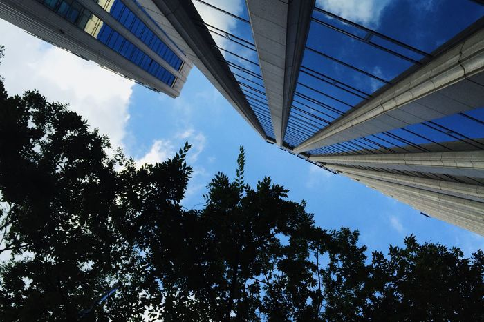 How High- Emk3ico Seoul Cityscape Korea Building