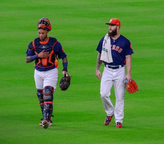 Martin Moldanado and Dallas Keuchel-Houston Astros Baseball Astros Baseball Players Tadaa Community Malephotographerofthemonth Texas Photographer
