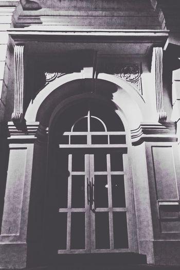 Old Door Art History Blac&white  Streetphoto_bw