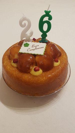 Birthday Birthday Cake Birthday Party Cake Compleanno Dessert Italy 26 26 Anni