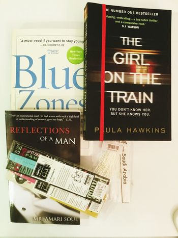Food for the bookworm. Books Bookmarks Reflectionsofaman Bluezone TheGirlOnTheTrain Reading Hobbies Relaxation