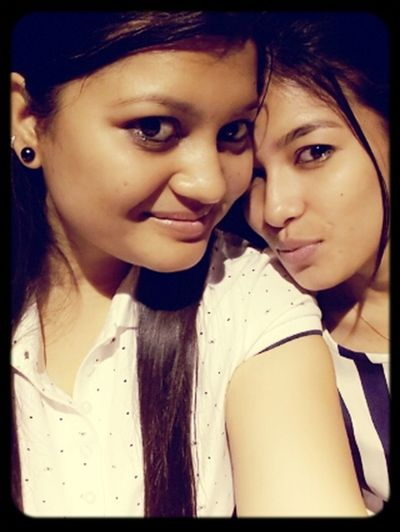 Sisters Function As Safety Nets In A Chaotic World Simply By Being There For Each Other??? Sis Time:) Love♡ Selfie ✌