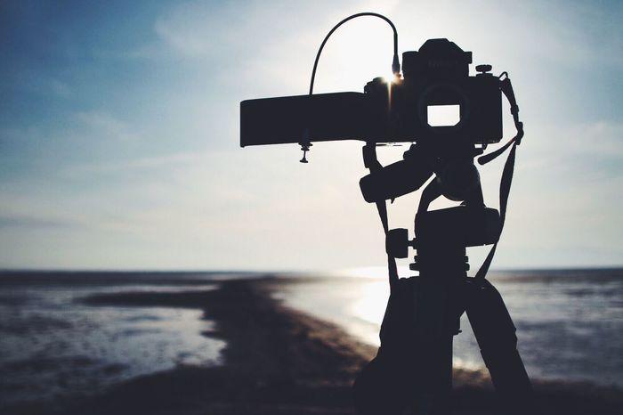 Photography In Motion オ〜マ〜イガ〜 Silhouette Sky_collection レンズ無しで撮れるって知ってた?🙄 EyeEm Best Shots 棒ちゃん持って有明海行ったのに🙄 Japan Nikonf2 EyeEm Snapshots Of Life