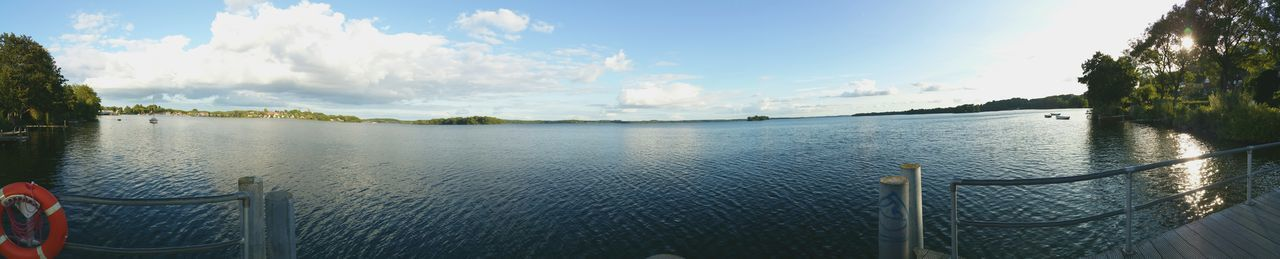Cloud - Sky Sky Water Outdoors Day Panoramic Nature No People Tree Beauty In Nature City Beauty In Nature Schleswig-Holstein Plöner See Panorama View Horizon Over Water Vacations Panoramic Photography Panorama Flower Plant Freshness Clear Sky Growth Nature