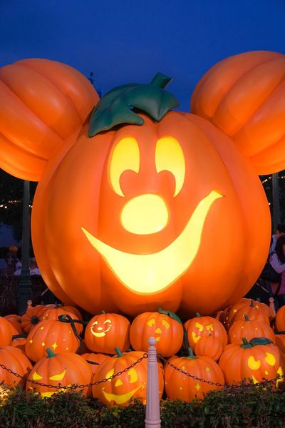 Halloween Pumpkin Disney EyeEm Selects EyeEm EyeEm Best Shots EyeEmNewHere EyeEm Gallery EyeEm Nature Lover Hong Kong Celebration Halloween Pumpkin Orange Color Jack O' Lantern Food And Drink Food No People Illuminated Lighting Equipment Lantern Nature Face Anthropomorphic Face Sky Event Holiday - Event Night Outdoors Festival