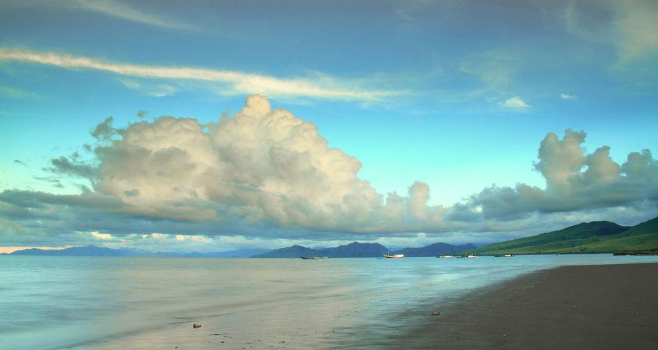 Maropokot Beach, Nagekeo, Indonesia Cloud - Sky Beach Landscape First Eyeem Photo