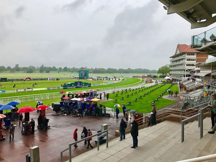 A wet start to the York Dante Meeting Large Group Of People Real People Sky Leisure Activity Men Cloud - Sky Built Structure Day Mixed Age Range Women Lifestyles Architecture Outdoors Water