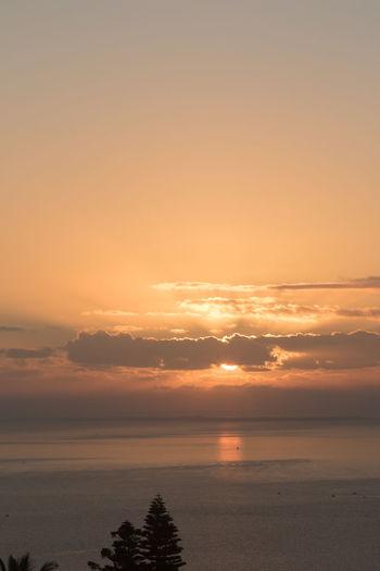 Te sunshine from my varanda in Maputo. Beauty In Nature Cloud - Sky Great Sunshine Horizon Horizon Over Water Idyllic Nature No People Outdoors Scenics - Nature Sea Sky Sunny Day Tranquil Scene Tranquility Water The Great Outdoors - 2018 EyeEm Awards EyeEmNewHere