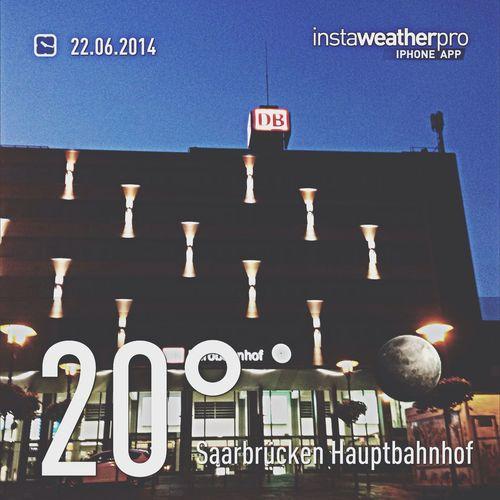 Wetterbericht Wetter Saarbruecken Train Station
