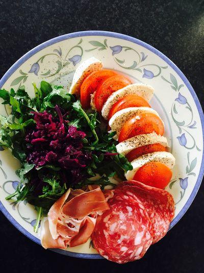 Enjoying Life Antipasto Share The Meal Food Salad Caprese Salad Healthy Eating Healty Food Healthy Food Foodporn Foodphotography Food Photography Foodpics