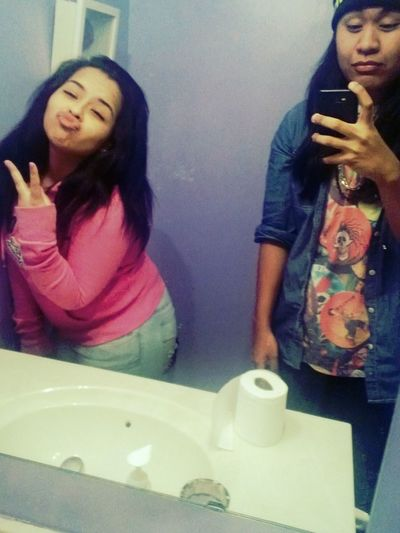 Lol. Me And Alexis Bruh.