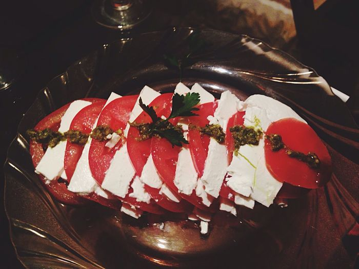 Salad Caprese Capresesalad Homemade Made With Love ❤❤❤