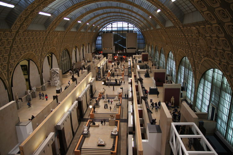 Orsay Arch Architecture Day Indoors  Museum No People Orsay Museum