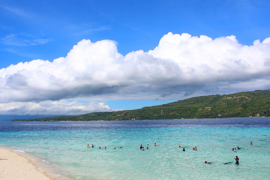 Beach Blue Sea Water Sky Cloud - Sky Sand Swimming Vacations Day Wave Nature Travel Destinations Beauty In Nature Outdoors Scenics Tropical Climate Summer
