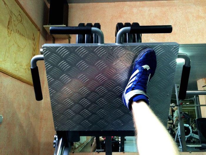 120 кг одной ногой ? Quick Workout First Eyeem Photo