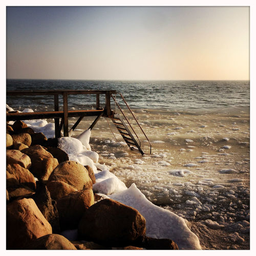 Beach Beauty In Nature Day Horizon Over Water Ice Swimming Icy Nature No People Outdoors Scenics Sea Sky Slush Water Winter Winterbathing øresund