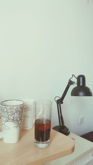 My cups & lamp