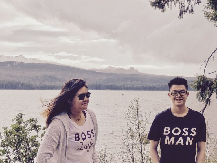 Outdoors Boss Lady and Boss Man Sunglasses Young Adult Leisure Activity Real People Togetherness Casual Clothing Happiness Two People Lifestyles Smiling Mountain Taking Photos EyeEm Gallery Travel Photography People