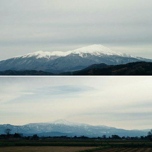 今日は北に鳥海山、南には月山、いずれも美しく見えて最高の日だった。 Gassan Mt.Gassan Chokaisan Mt.chokaisan SAKATA SHONAI Mountains Mountain Mountain View Snow White Mountains Winter YAMAGATA