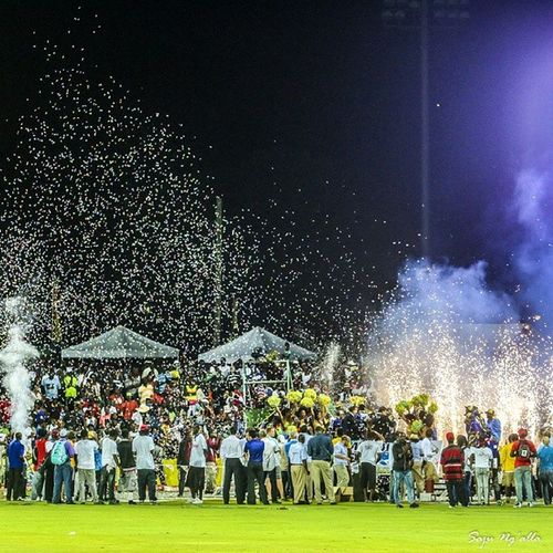 Awards ceremony brings an end to 2014 CPL Finals in StKitts Canon Sportsphotography Cricket CPL Caribbeancricket Caribbean Champions Barbados