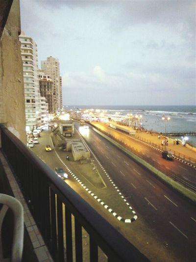 Street ❤ Streets Alexandria City Sea No People Transportation Architecture Cloud - Sky Day