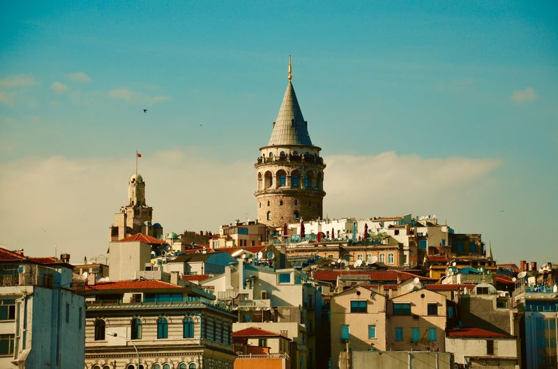 Architecture Built Structure City Galata Galata Tower Istanbul Sky Tower Travel Travel Destinations Turkey