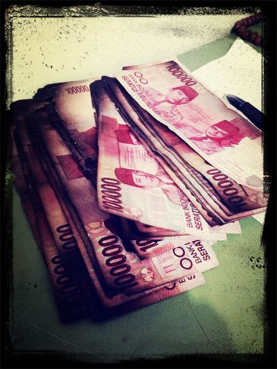 Money Money Money Disaster Burned Jakarta