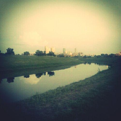 #TrinityRiver #Downtown #Walk