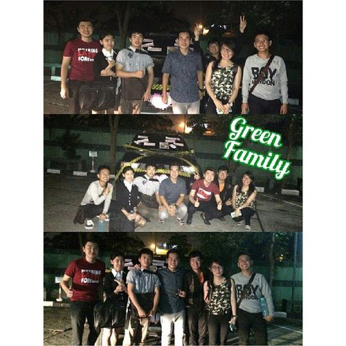 We are a part of Green Family. Bunch of happy kids. Damn_i_love_green Friendship 朋友