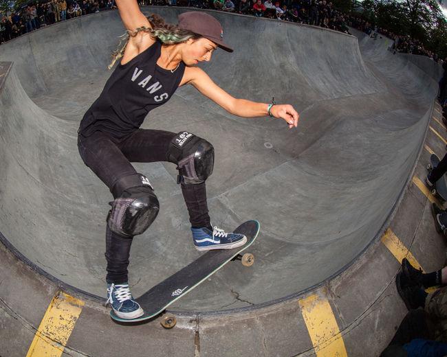 Action Fisheye Lizzie Armanto Outdoors RAD Skateboarding