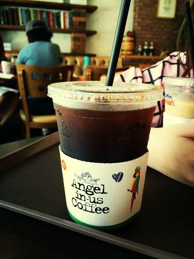coffee time in Seoul